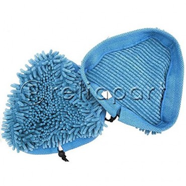 RELIAPART Coral Microfibre Steam Mop Pad for Vax S2 Series Steam Cleaner Mop (Pack of 2)