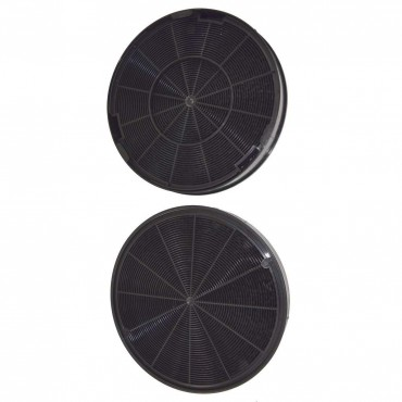 Reliapart Charcoal Carbon Filters For Electrolux Indesit Hotpoint EFC635X, EFC635X Cooker Hood Vent Part No.50290659007 (200mm x 30mm, Pack of 2)