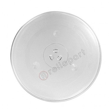 Reliapart Universal Microwave Turntable Glass Plate with 6 Fixers (315mm)