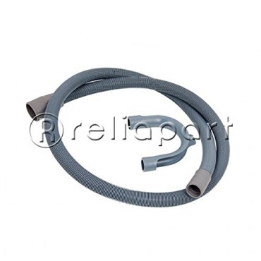 Reliapart Drain Outlet Hose & Hook for Hotpoint Washing Machine (1.5M, 18mm / 22mm)